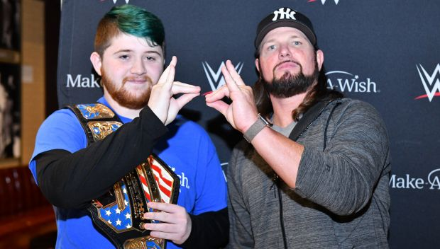 AJ Styles grants Travis' wish in Cleveland: photos