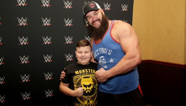 Braun Strowman grants Ethan's wish in LA: photos