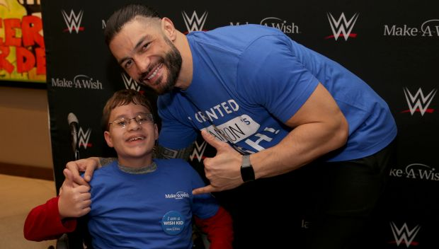 Roman Reigns grants Cameron's wish in Milwaukee: photos