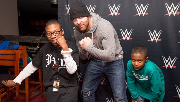 Dean Ambrose grants Keion's wish: photos