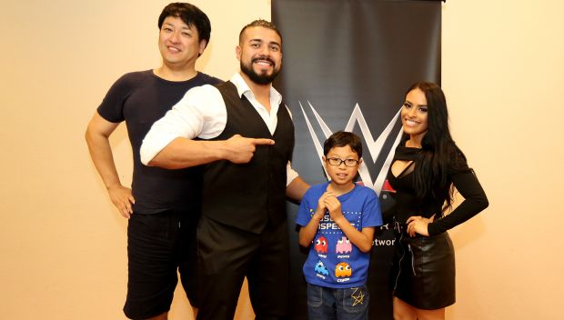 "Andrade ""Cien"" Almas, Zelina Vega and Asuka met with Special Olympics athletes and Tohoku high school students in Tokyo, Japan: photos"