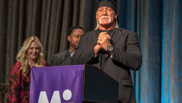 WWE executives and Hulk Hogan attend March of Dimes 35th Annual Sports Luncheon: photos