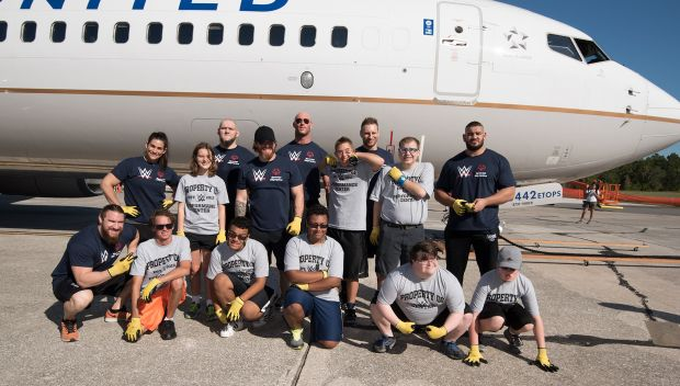 NXT Superstars and Special Olympics Florida host Plane Pull: photos