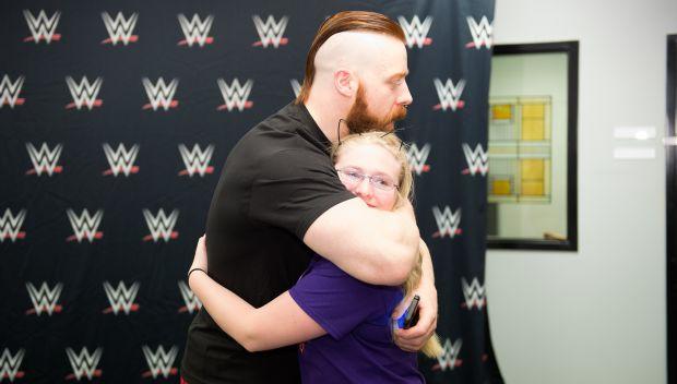 Sheamus grants Erica's wish: photos