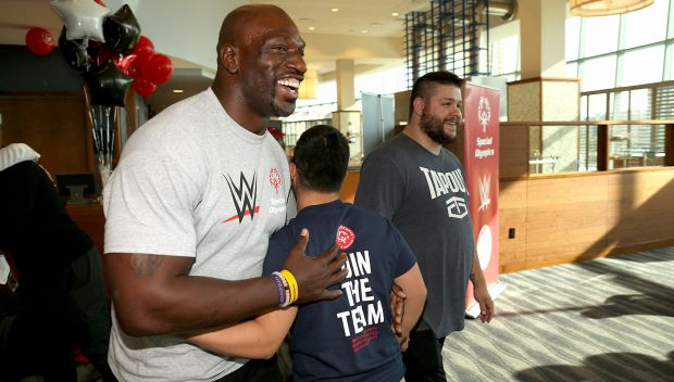 WWE and Special Olympics celebrate international partnership at Raw: photos