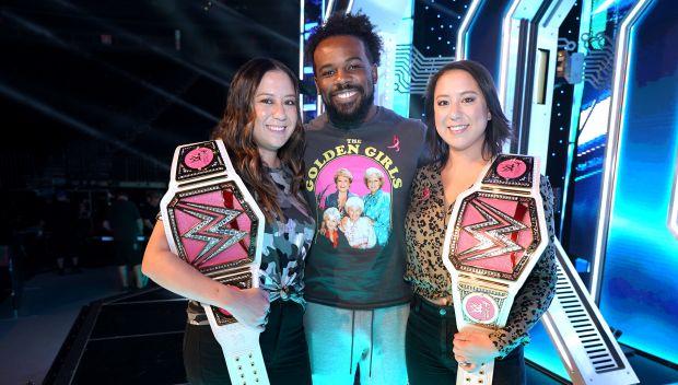 WWE supports Susan G. Komen during SmackDown in Las Vegas: photos