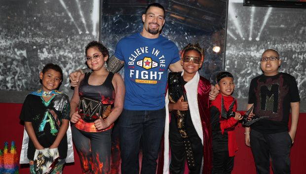 Connor's Cure Kid Superstars are honored on Raw: photos