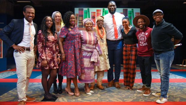 NXT Superstars join the African American Read-In: photos