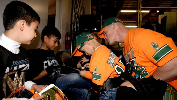 Circle of Champions: John Cena meets Christian in Laredo, Texas: photos