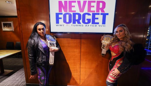 WWE presents Celebrating Community Champions in remembrance of 9/11: photos