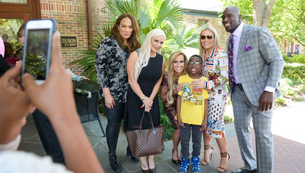 WWE hosted a luncheon at New Orleans' Audubon Zoo for longtime partner Susan G. Komen: photos