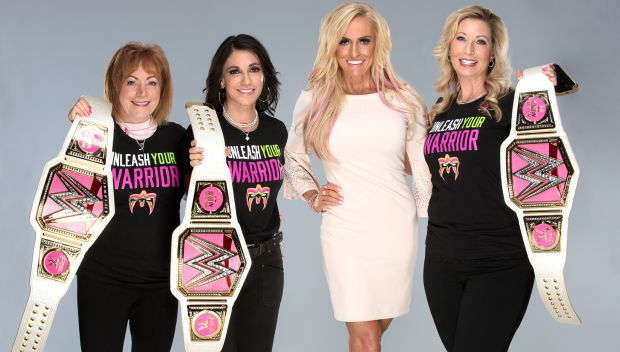 Dana Warrior meets breast cancer survivors: photos
