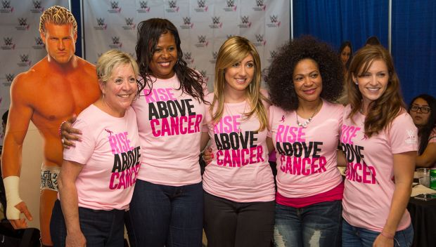 WWE honors breast cancer survivors at 2015 reception: photos