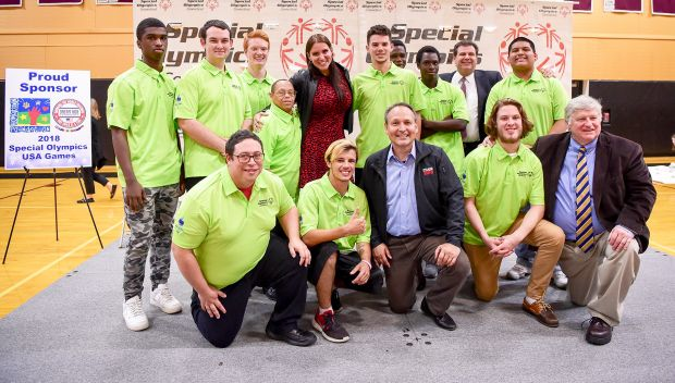 Stephanie McMahon hosts Special Olympics Connecticut 2018 USA Games Team Connecticut announcement: photos