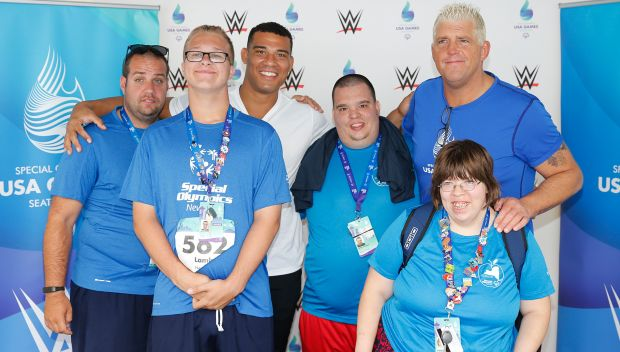 Jason Jordan and Goldust support day 4 of Special Olympics USA Games: photos