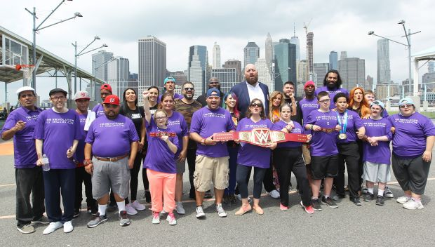 Special Olympics Unified Bocce Tournament in Brooklyn, N.Y.: photos