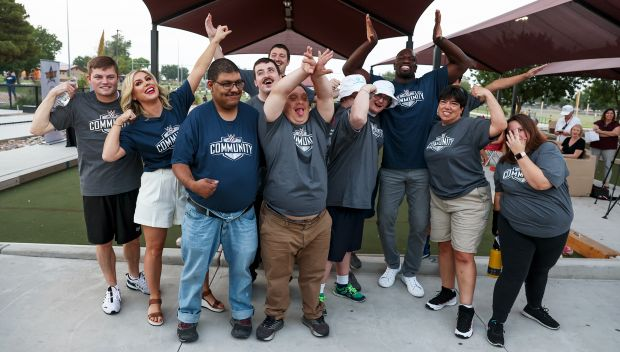 Special Olympics Unified Bocce event before SummerSlam 2021: photos