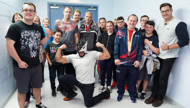 Kalisto meets Special Olympics Great Britain Athletes in Sheffield: photos