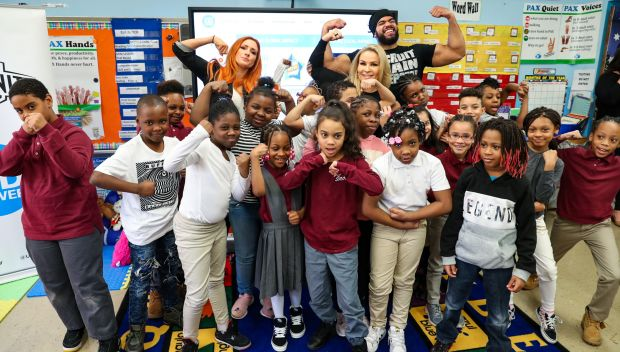 Superstars host UNICEF Kid Power event in Brooklyn, N.Y.: photos