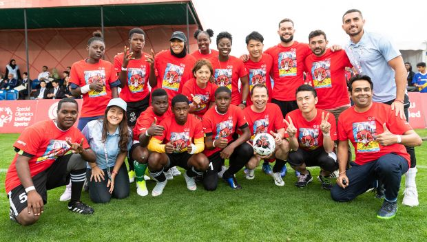 Finn Bálor supports the Special Olympics 2019 World Games: photos