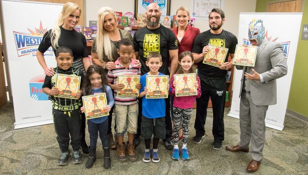 WWE and First Book celebrate World Read Aloud Day with a Reading Celebration in Orlando: photos