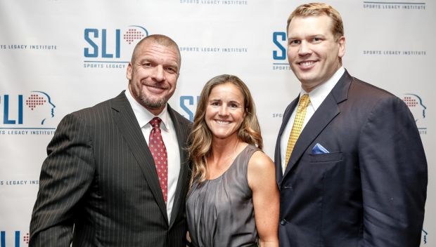 Triple H appeared at Sports Legacy Institute Impact Awards, elected to Board of Directors