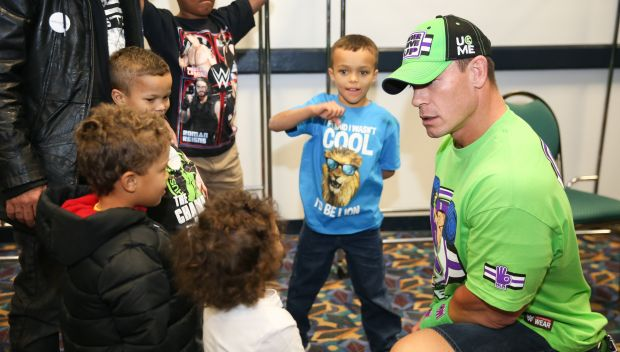 John Cena grants Matthias' wish in Chicago: photos