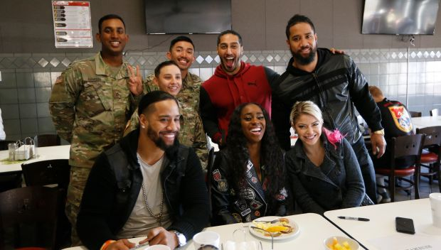 WWE Superstars meet servicemembers and families stationed at Fort Hood: photos