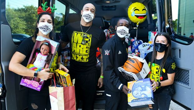 WWE Season of Giving – NXT Superstars host a holiday gift drive at Boys & Girls Clubs of Central Florida: photos