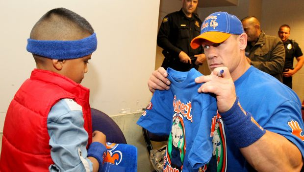 John Cena grants Eduardo's wish in Phoenix: photos