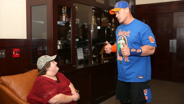 John Cena grants Camrey's wish: photos