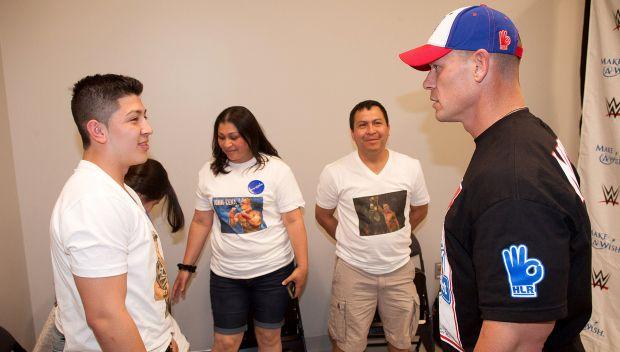 John Cena meets Kenny in Las Vegas: photos