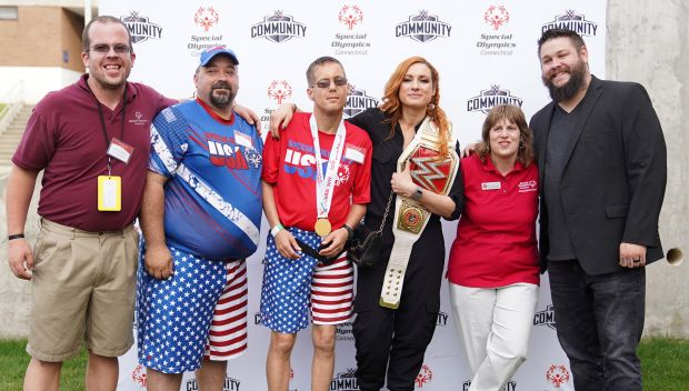 WWE takes part in Special Olympics Connecticut Summer Games Opening Ceremonies 2019: photos