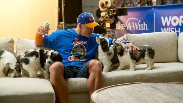 Behind the scenes of John Cena's Make-A-Wish PSA: photos