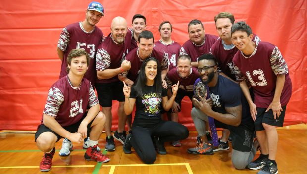 WWE hosts a Special Olympics Unified Basketball Game in Houston: photos