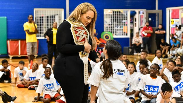 WWE hosts a Be a STAR rally in Houston: photos