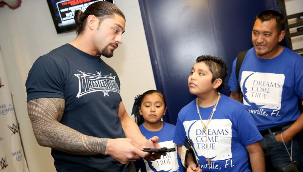 Circle of Champions: Roman Reigns meets Christian: photos