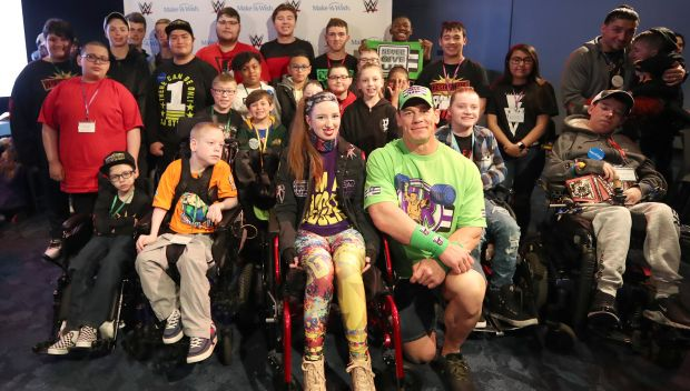 Superstars celebrate Make-A-Wish Circle of Champions before WrestleMania 35