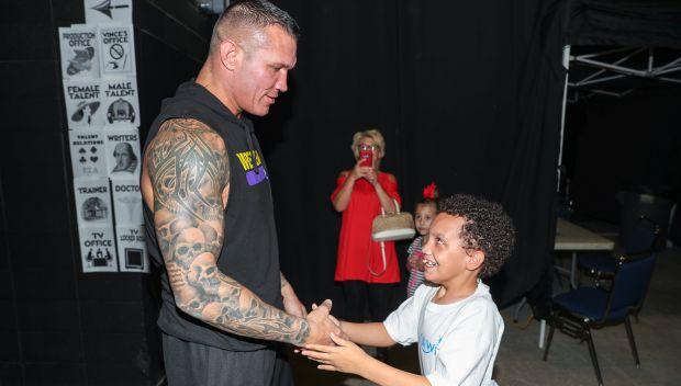 Randy Orton grants Avery's wish: photos