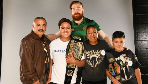 Sheamus grants a wish in Charlotte: photos