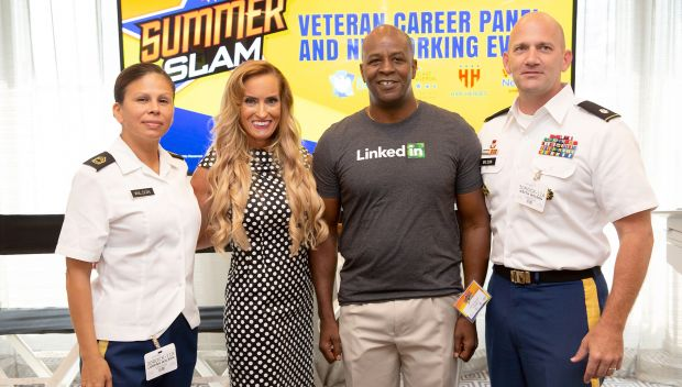 WWE hosts Veteran Career Panel and Networking Event with Hire Heroes USA: photos