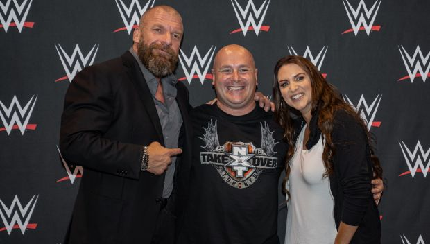 Triple H & Stephanie McMahon meet the WWE Universe in Toronto to benefit Connor's Cure: photos