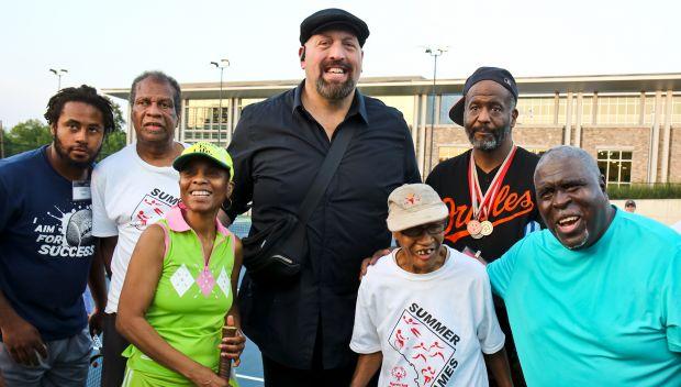 Big Show visits Special Olympics headquarters: photos
