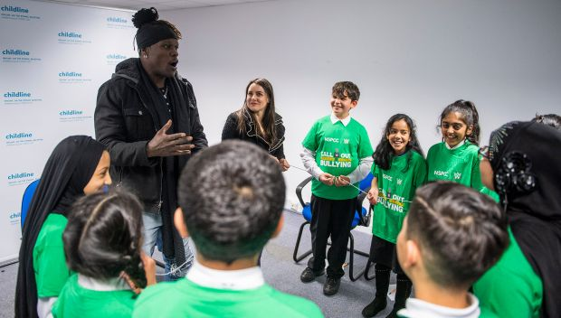 R-Truth and Nikki Cross host an anti-bullying campaign in Glasgow, UK: photos