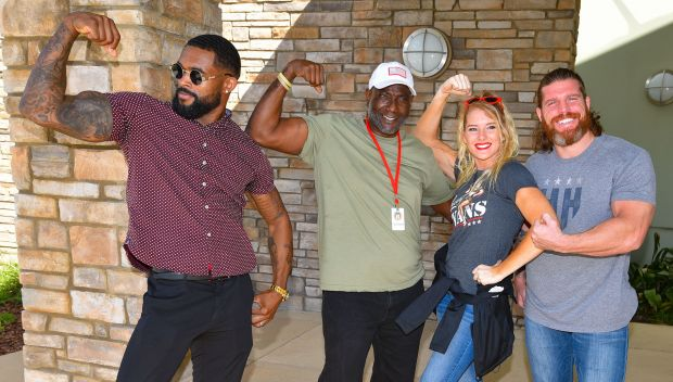 NXT Superstars visit U.S. Veterans in Orlando: photos