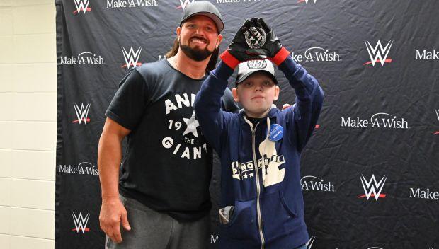 AJ Styles grants Bryson's wish in Birmingham: photos