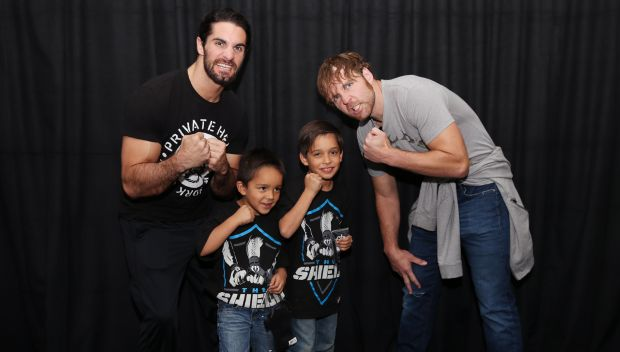 Seth Rollins and Dean Ambrose grant a wish in LA: photos