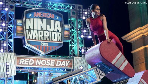 Nikki Bella joins Celebrity Ninja Warrior For Red Nose Day