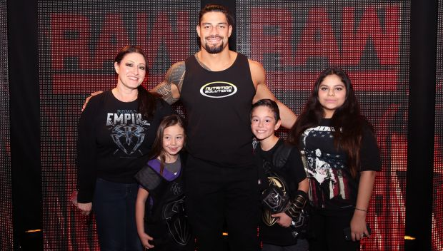 Roman Reigns grants Coee's wish in Los Angeles: photos