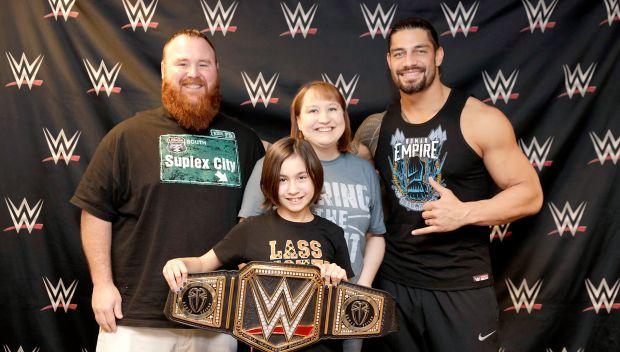 Roman Reigns grants Megan's wish: photos